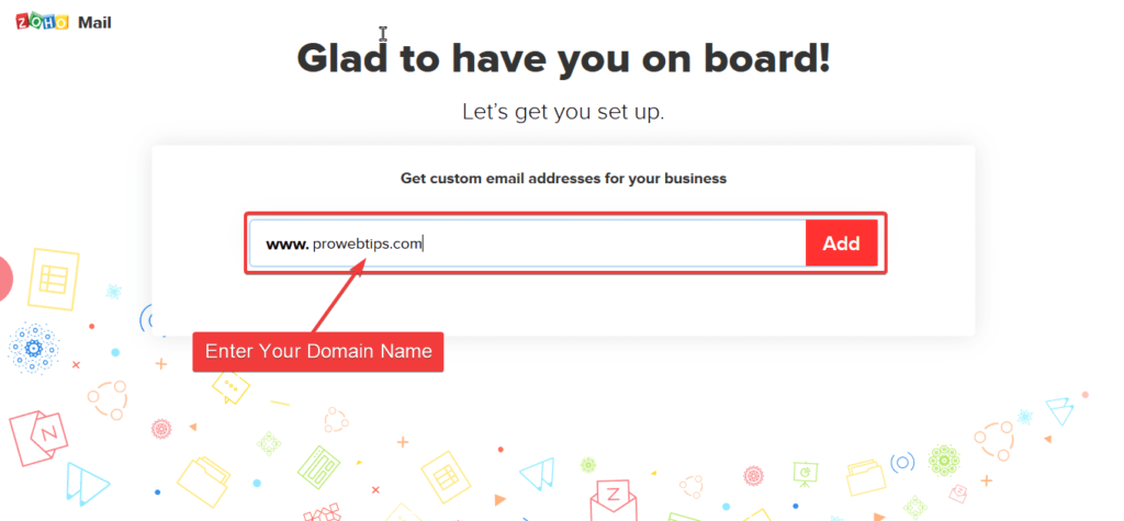 Add Domain Name to Zoho Mail