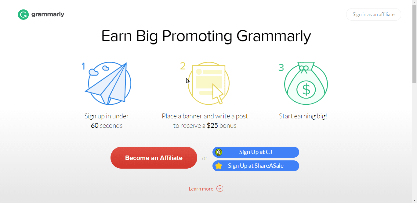 Grammarly Affiliate provides you to earn money and use Grammarly Premium for free