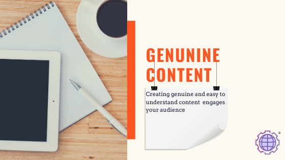 Write Genuine and SEO optimized content