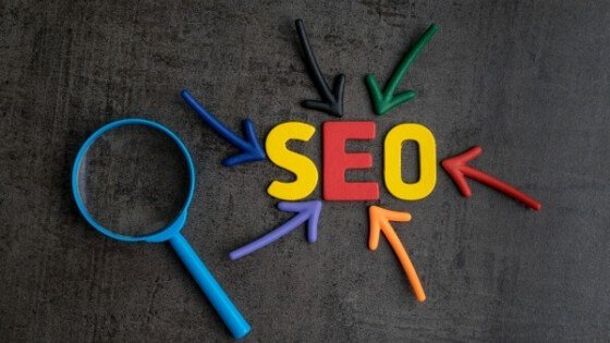 Optimized content with SEO