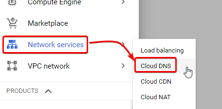 Network Service on Google Cloud