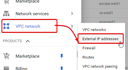 VPC Network on Google Cloud