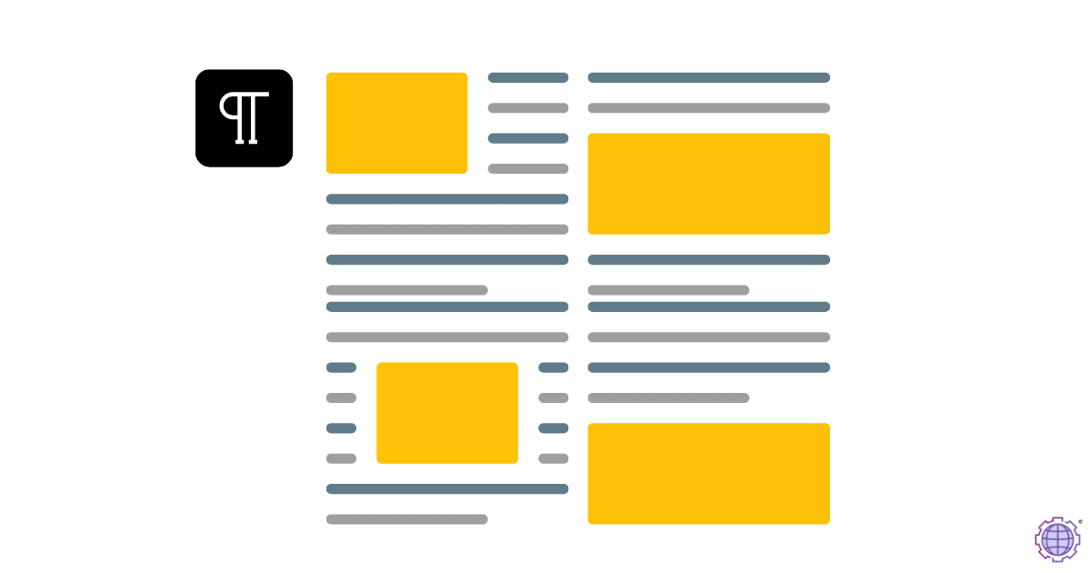 Paragraph configuration for SEO optimization and seo friendly content