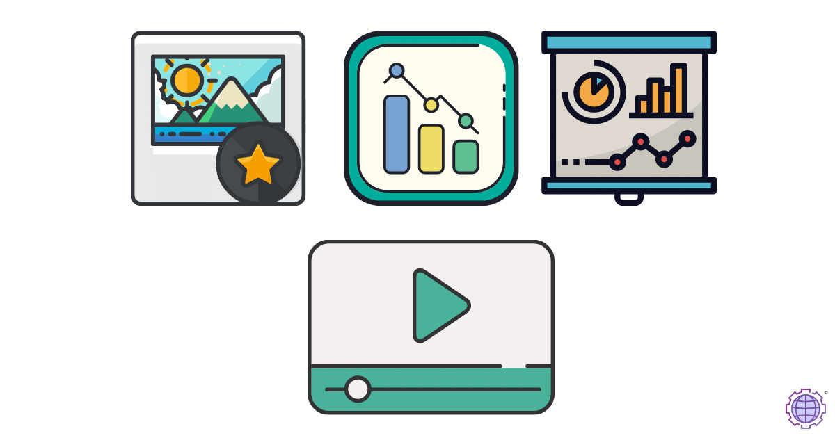 Use Images, Charts, and Videos for SEO Friendly content for SEO optimization