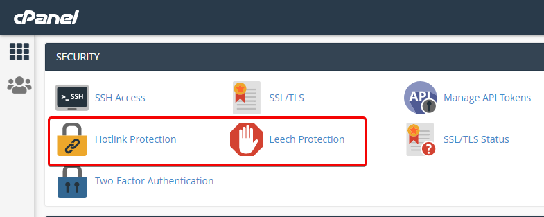 Hotlink and Leeching Protection