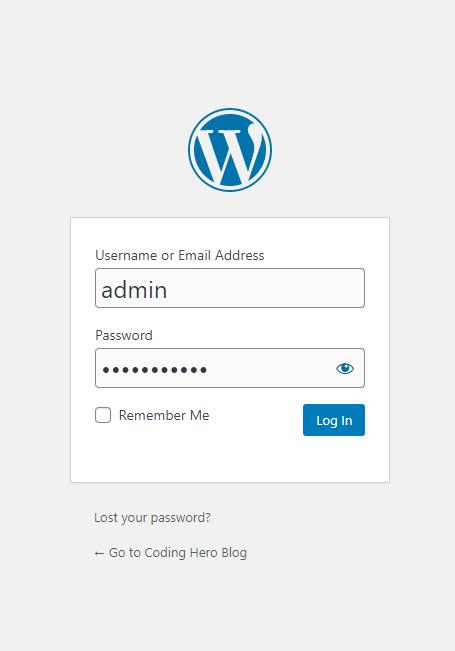 wp-login-page