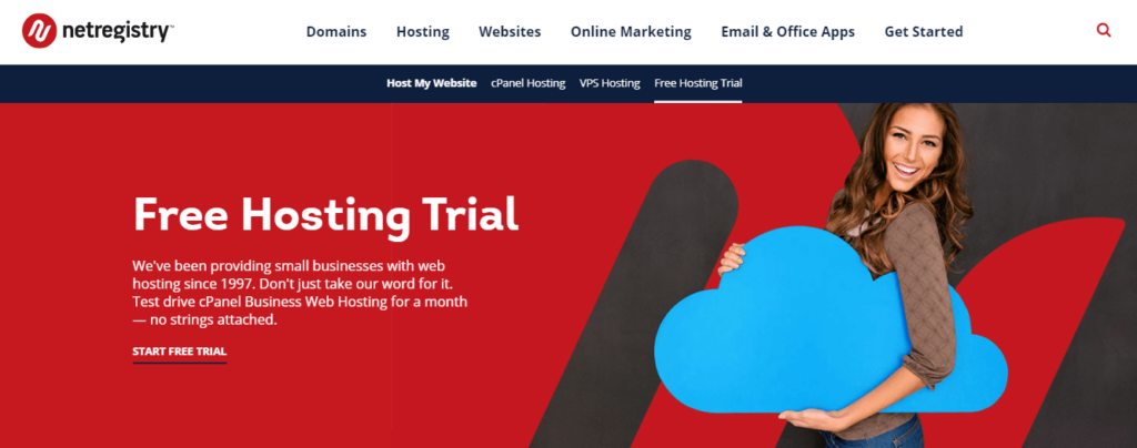 Netregistry Hosting Free Trial