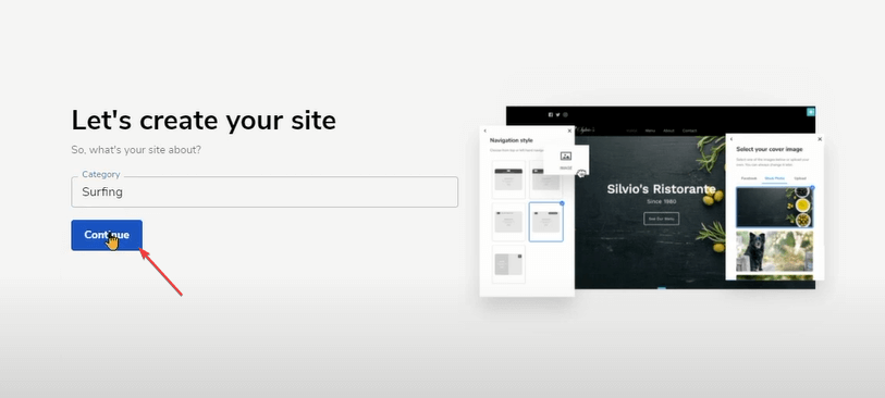 Let's Create Your Site