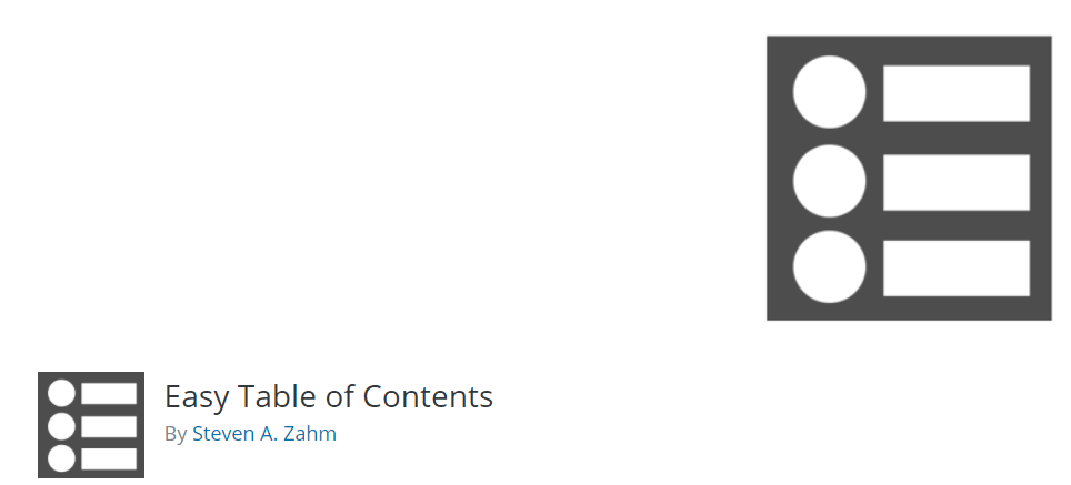 Essential WordPress Plugins - Table Of Contents
